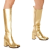 Gold Gogo Boots Adult